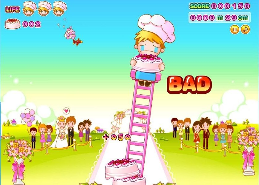 Cake Tower looks cute, but it's evil.