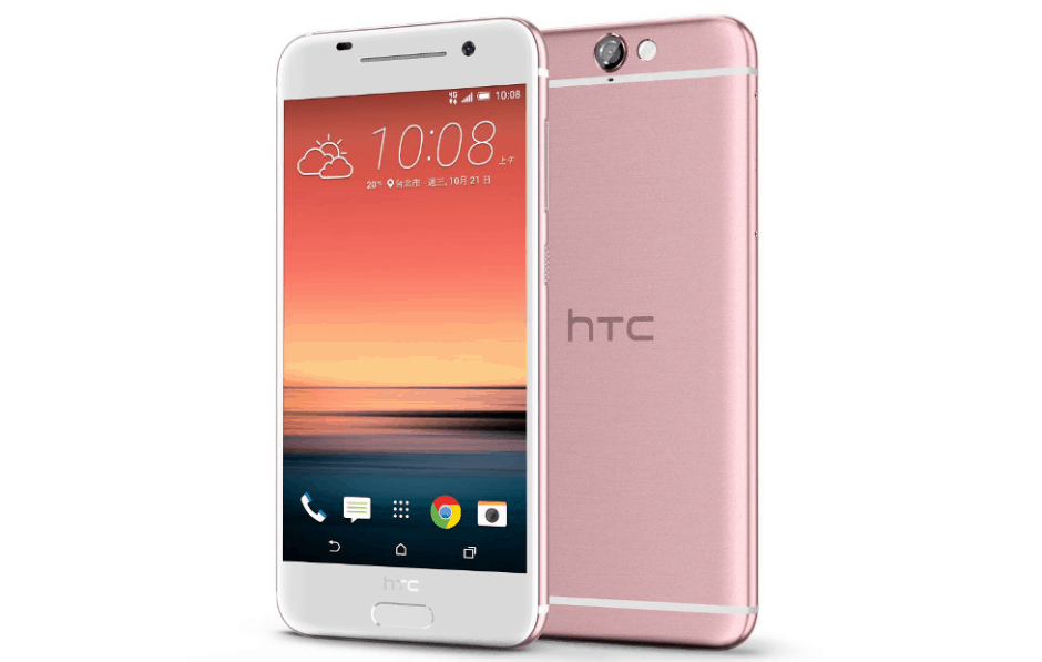 HTC's One A9 is pretty in pink. Photo: HTC