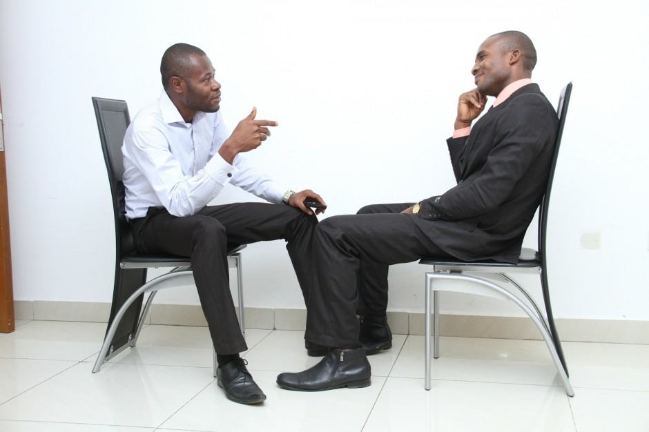 Job Interview photo by Ibrahim Adabara