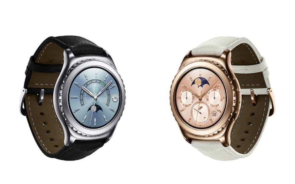 Gear S2 now comes in rose gold and platinum. Photo: Samsung