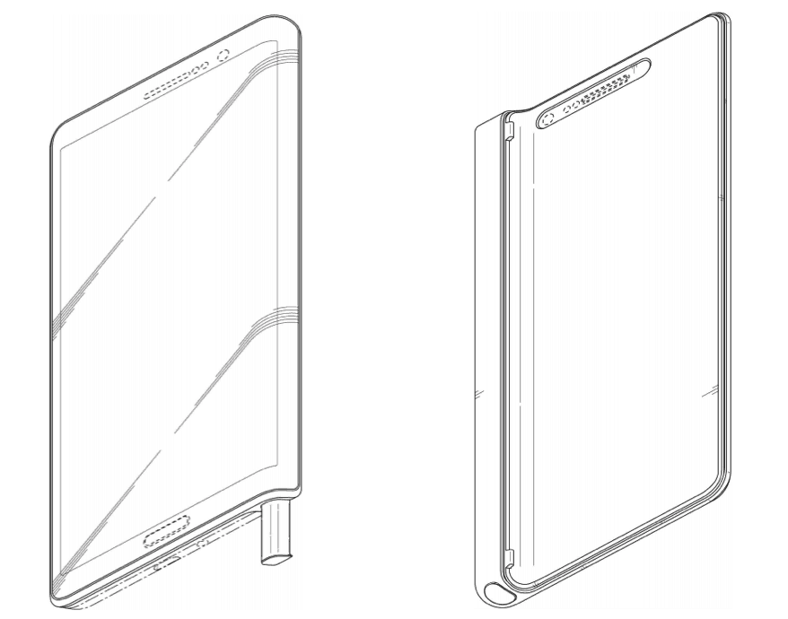 Samsung's been working on an S Pen case. Photo: Samsung