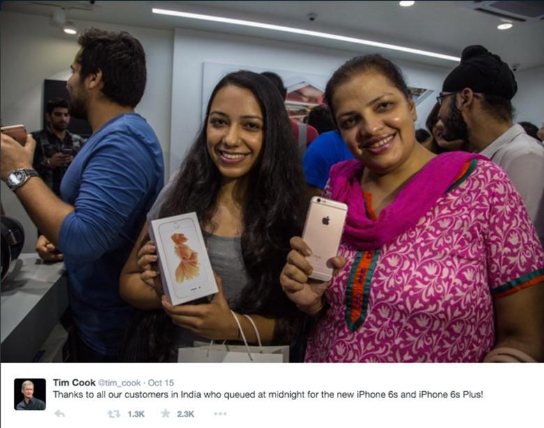 Apple has focused heavily on its India business. Photo: Apple