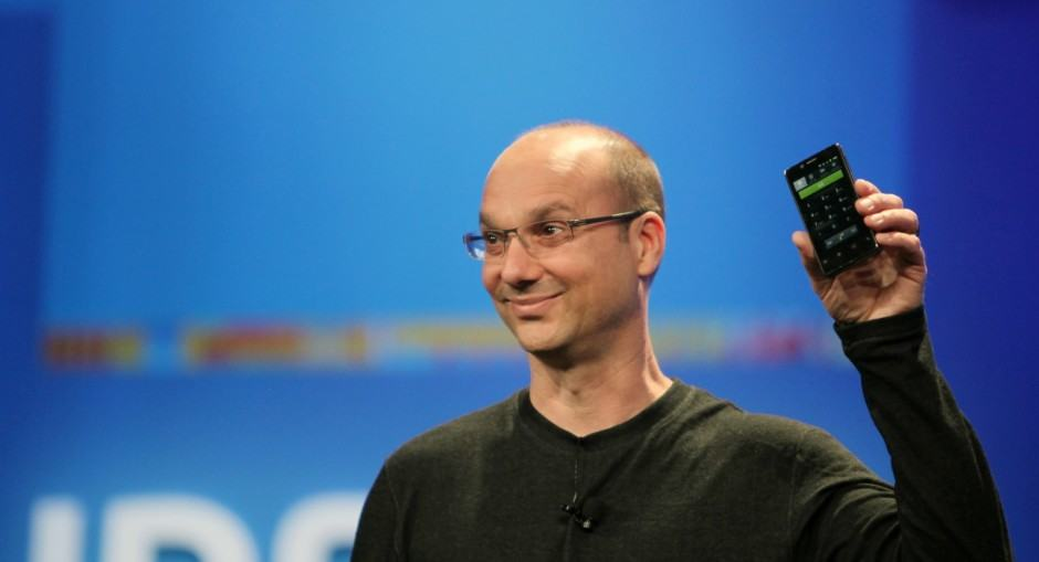 Andy Rubin wants more eyes on the road. Photo: Google