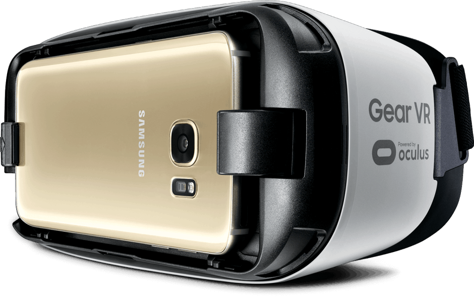 Galaxy S7 with Gear VR. Photo: Samsung