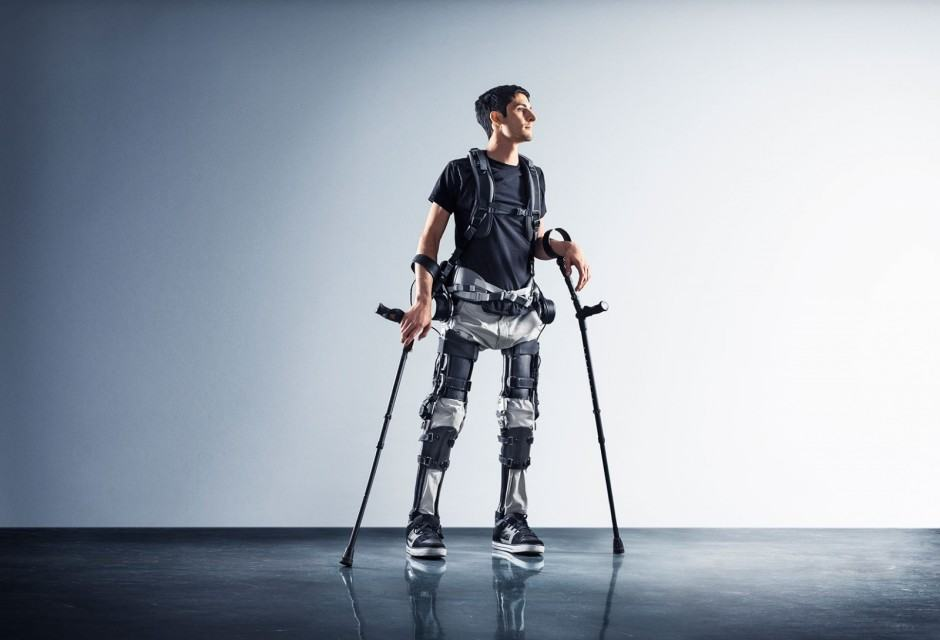 "Steve Sanchez says the Phoenix  is a breakthrough in exoskeleton comfort. ""This is the first suit I've tried where I don't feel like I am riding a robot,"" he said. Photo: SuitX"