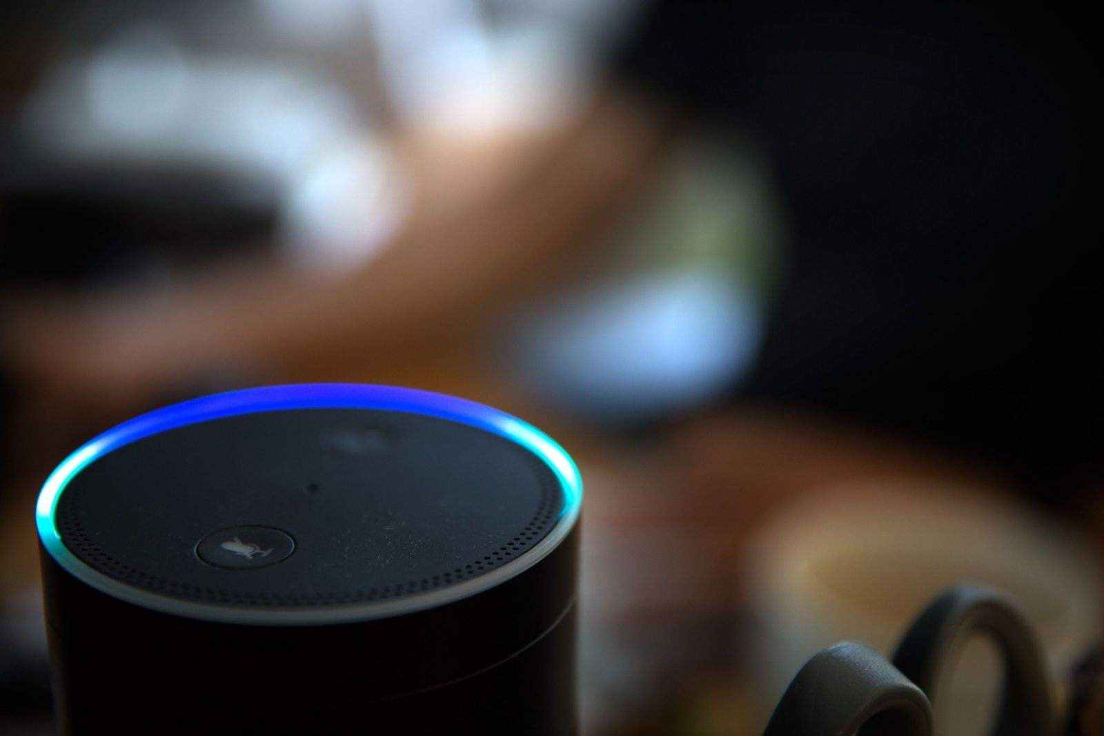 Amazon's Echo and Alexa, helping us rhyme since 2016. Photo: Jim Merithew/Cult of Mac