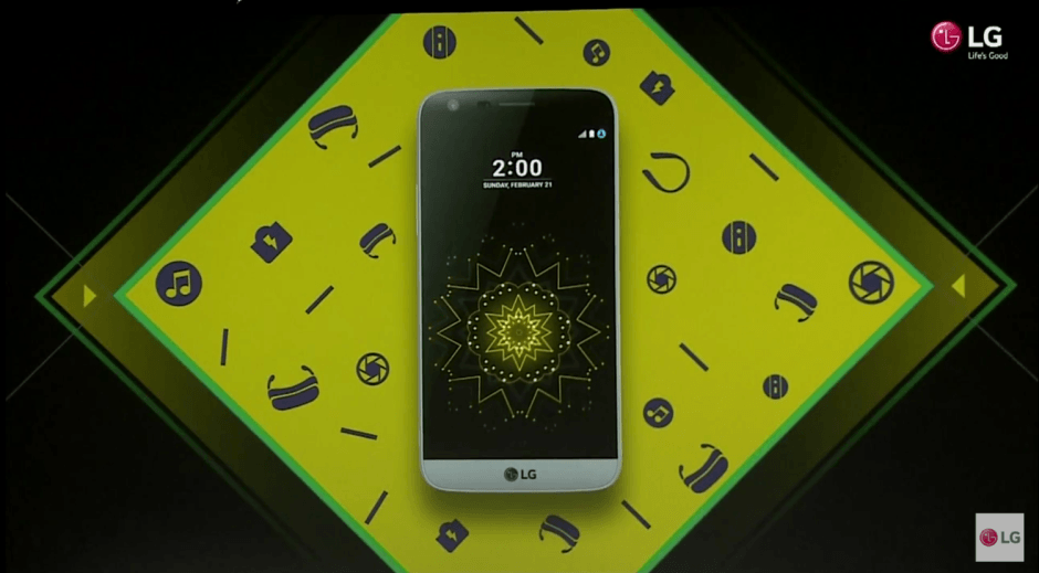 LG G5 is more than it looks at first glance. Photo: LG