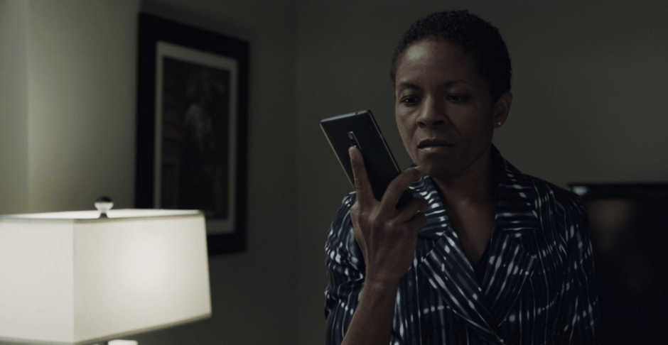 A OnePlus 2 in House of Cards season 4. Photo: Netflix