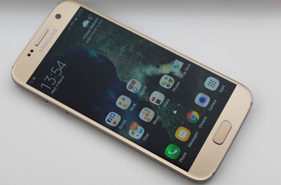 Android 6.0.1 with TouchWiz on Galaxy S7. Photo: Killian Bell/Cult of Android