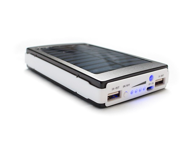 Save 64% and go green on the 50,000mAh solar power bank [Deal]