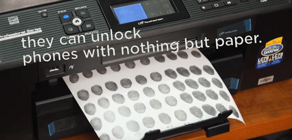 inkjet fingerprint