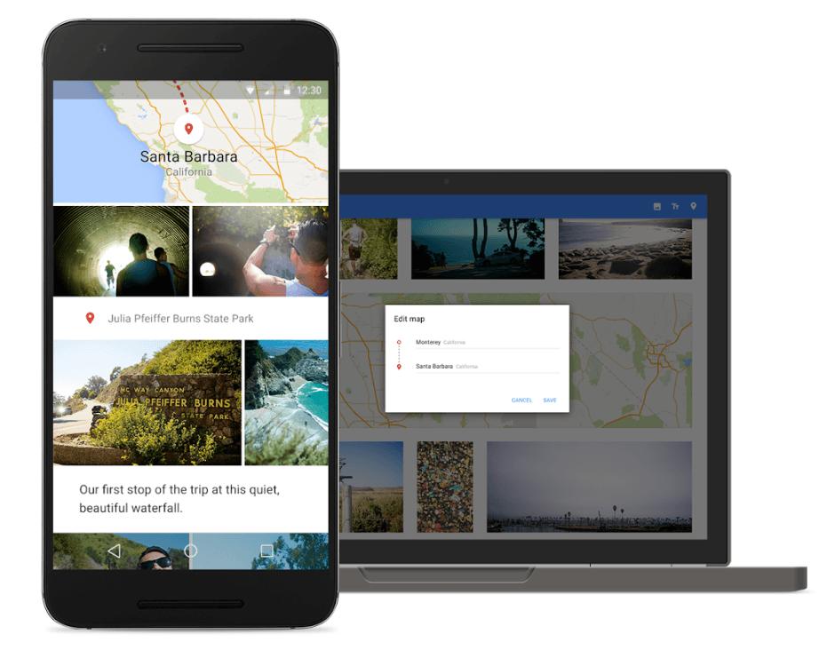 Google Photos smart albums