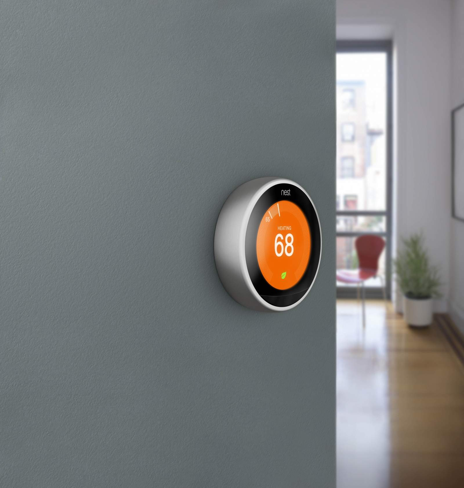 Nest's 3rd generation thermostat. Photo: Nest.