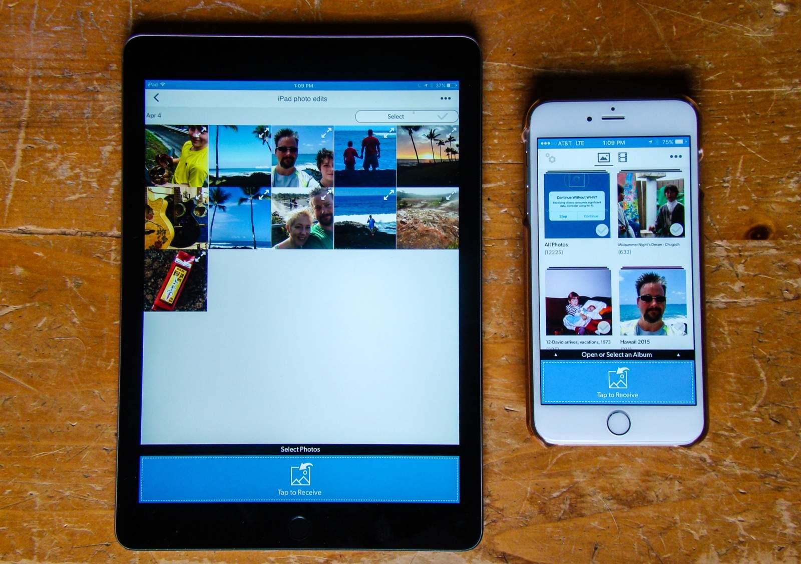 how to move iphone photos to new android phone