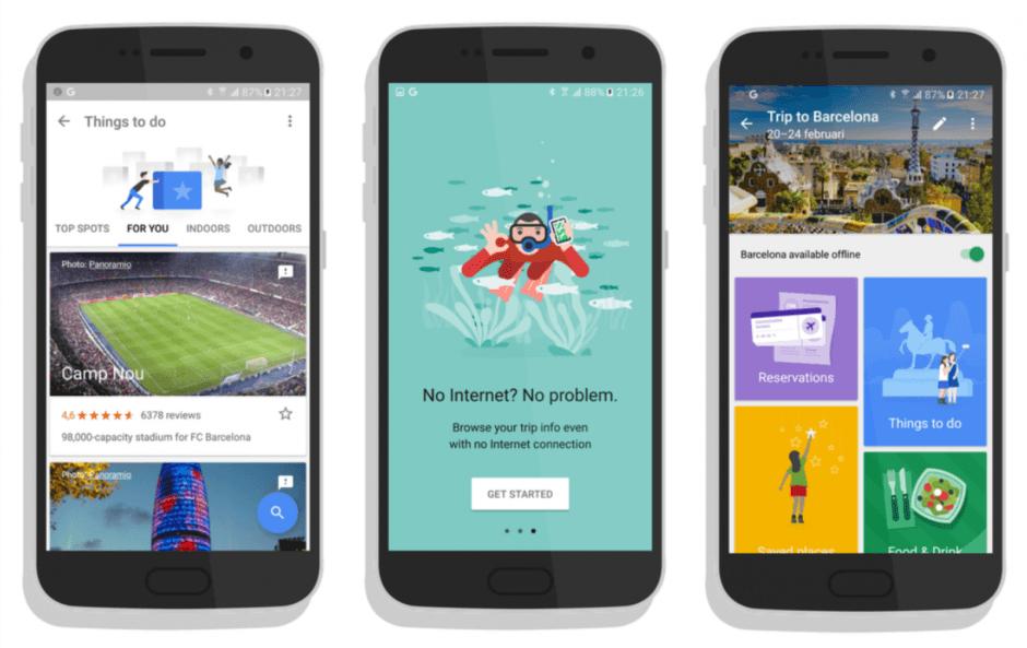 Screenshots: AndroidWorld