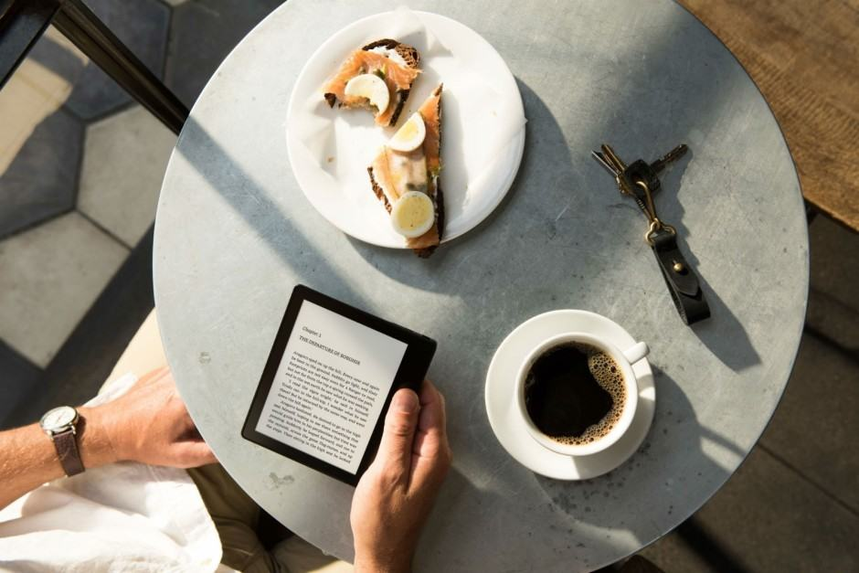The Kindle Oasis takes e-reading to a new level. Photo: Amazon
