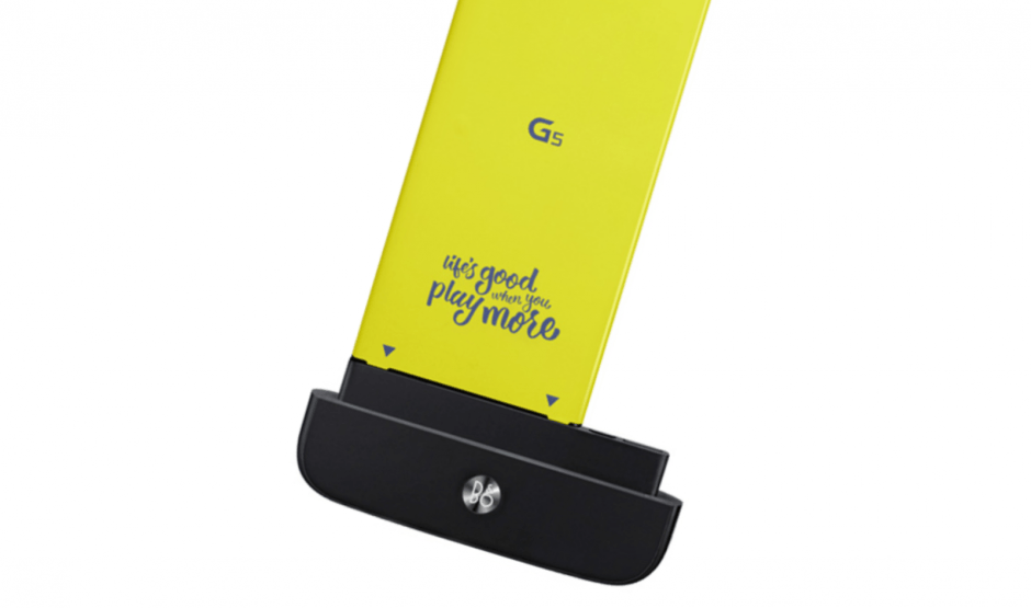 Bang & Olufsen's DAC for the LG G5. Photo: LG
