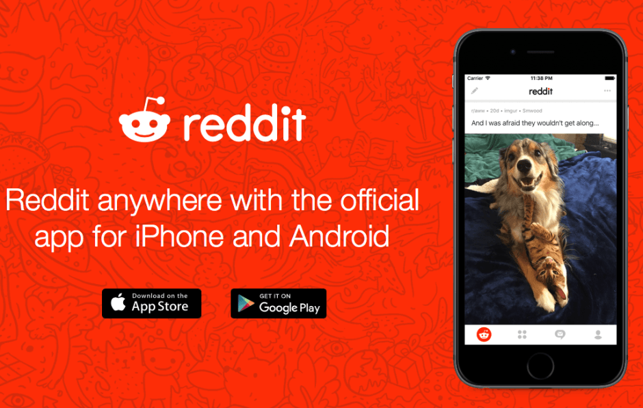 Reddit: The Official App is finally here! Photo: Reddit