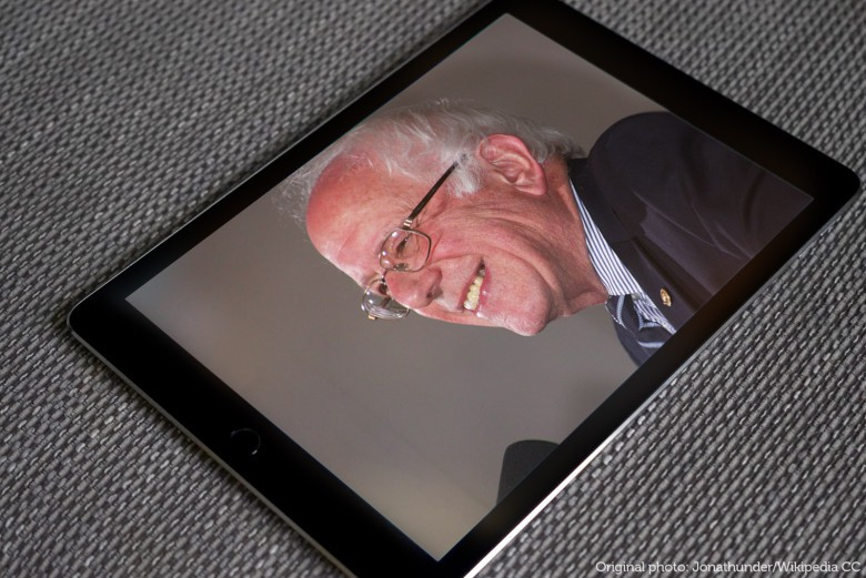 Silicon Valley is behind Bernie Sanders all the way. Photo: Ste Smith/Jonathunder/Cult of Mac