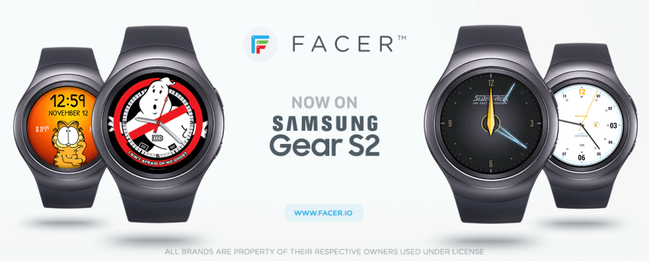 Facer finally arrives on the Gear S2. Photo: Little Labs