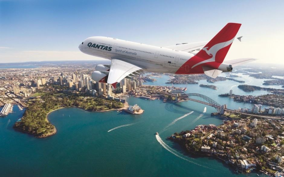 "Don't get on a plane with a Wi-Fi hotspot named ""mobile detonation device."" Photo: Qantas"