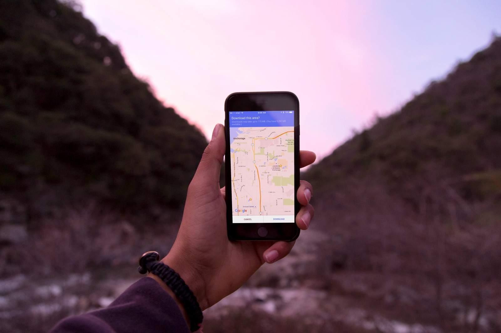 No data, no problem: Use Google Maps offline
