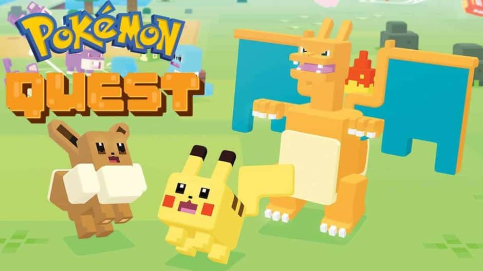Cult of Android - Pokémon Quest takes you on a free, cube-shaped